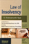 Law of Insolvency Commentary on The Provincial Insolency Act, 1920 Icluding Model Forms in Insolvency Proceedings