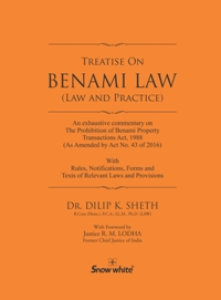 TREATISE ON BENAMI LAW ( LAW AND PRACTICE)